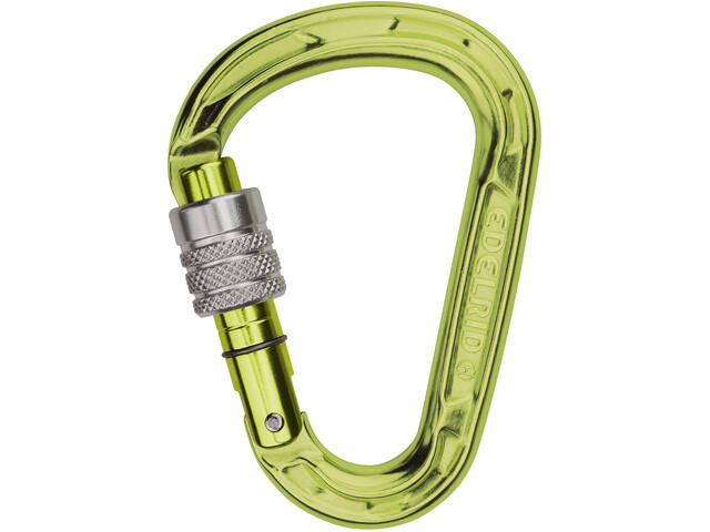Edelrid HMS Strike Screw Carabiner oasis